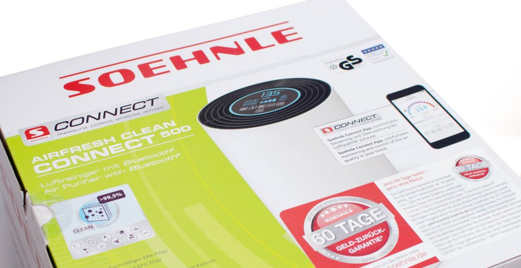Sohnle Airfresh Clean Connect 500 - Verpackung